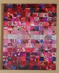 Abstract mosaic from AMZStudio, Etsy