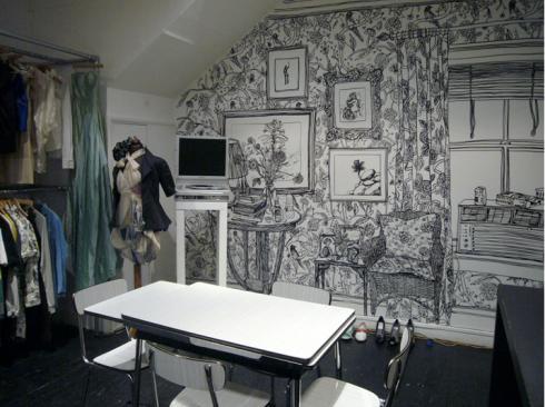 Charlotte Mann mural