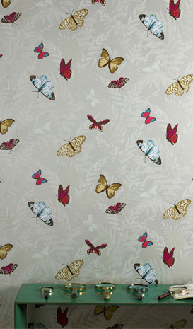 Nina Campbell Lombardia wallpaper