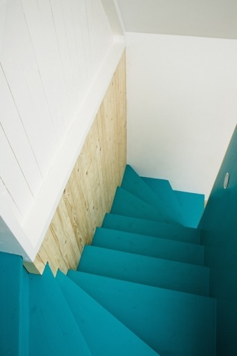 blue-stairs