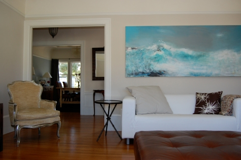 The Wave painting