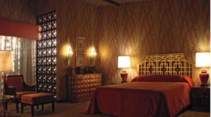 Hilton bedroom