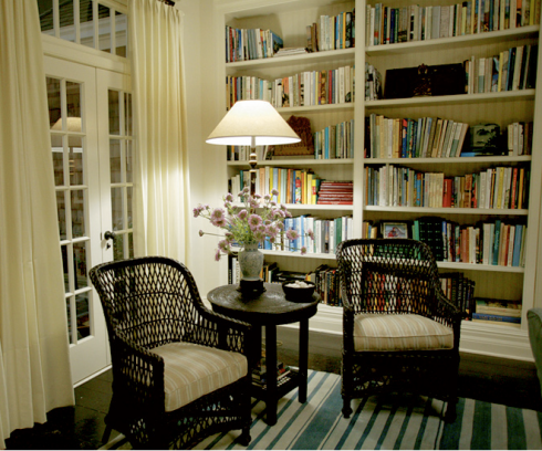 Something's Gotta Give - reading nook