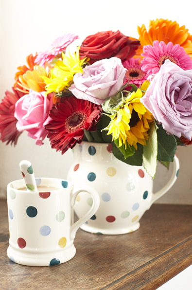 Roses and tea