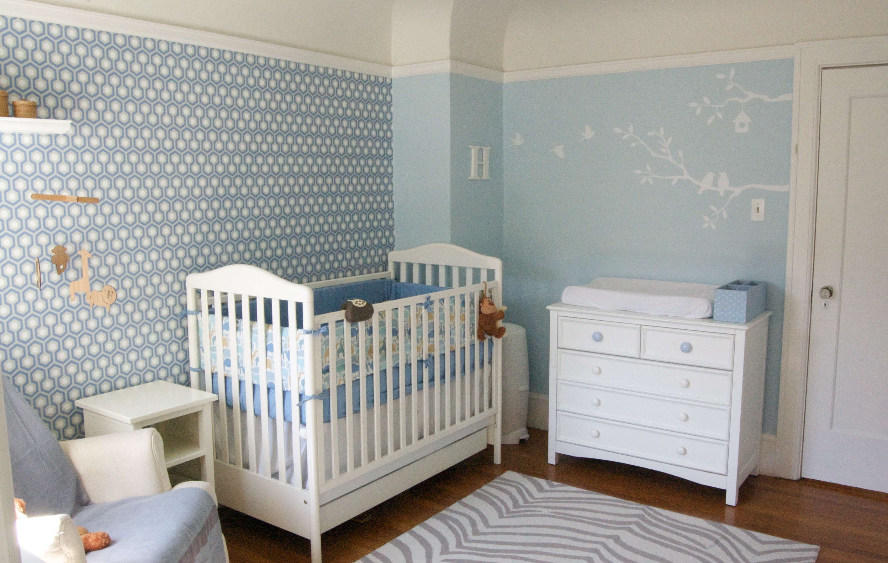 1000 images about baby room ideas on pinterest nurseries cribs and baby rooms - Room decoration for baby boy ...