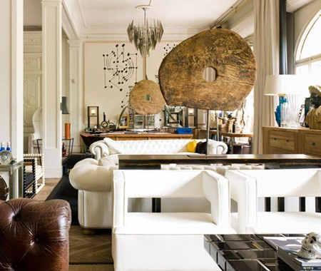Curated living room
