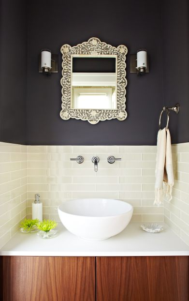 Powder-room-inlay-mirror-charcol-wall